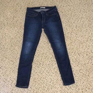 "Levi's 711 skinny jeans 30"""